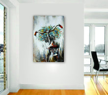 "OLIVIA'S LOFT | Art-under-$100 | Original Oil Painting Bicycle, Flowers | ""For My Love""$90 