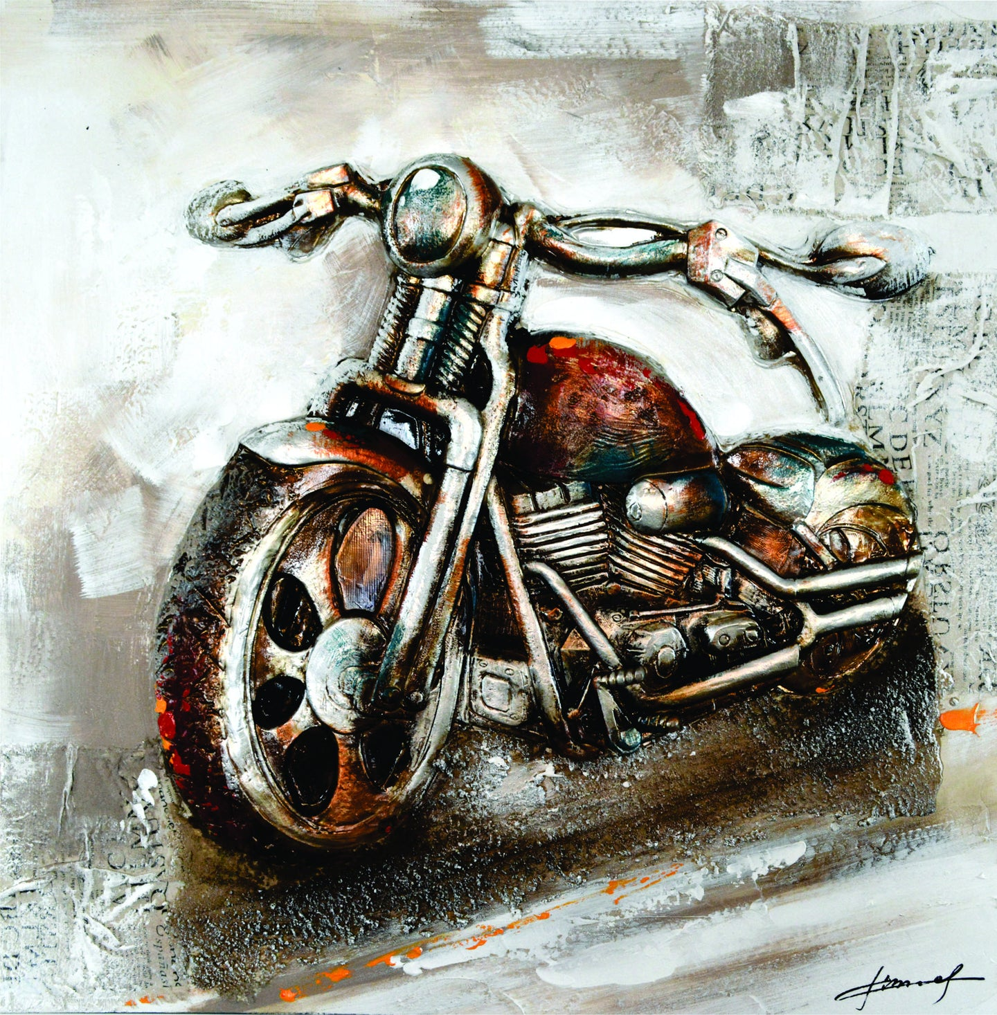 moto art. olivia\u0027s loft | art-under-$100 bikes-painting gifts-for moto art