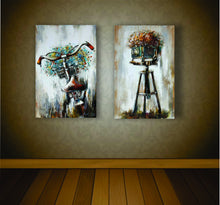 "OLIVIA'S LOFT | Art-under-$100 | Painting Retro Bicycle | Painting Retro Camera | ""For my Love"" 