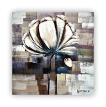 """Song of Eternity"" Floral Painting on Canvas"
