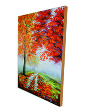"OLIVIA'S LOFT | Art-under-$100 | Forest Oil Painting | ""Walk-on-By"" 