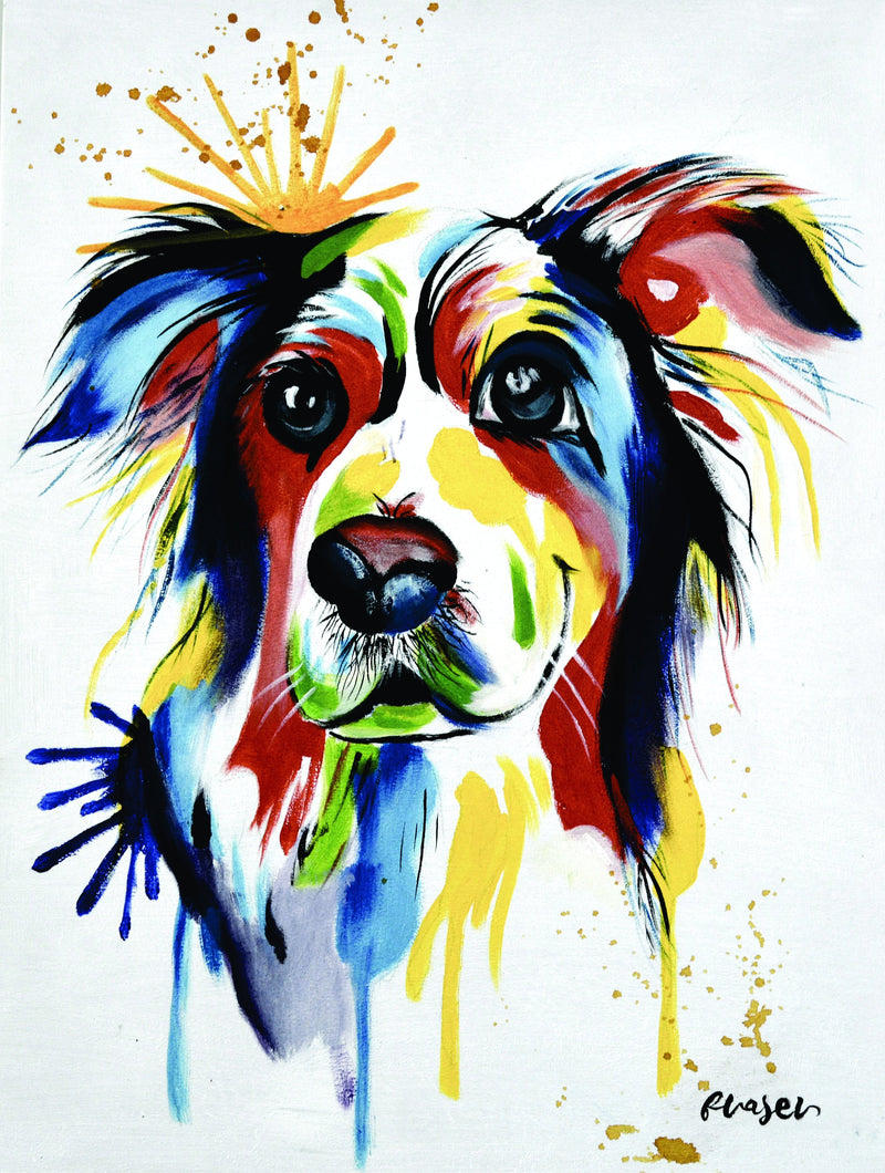olivia's-loft | affordable _wall_art | hand_painted_Dog| Dog_Painting | Wall_Art_Animals | Pet_paintings