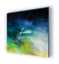 Framed Canvas Abstract Motivational Prints (Set of 4)
