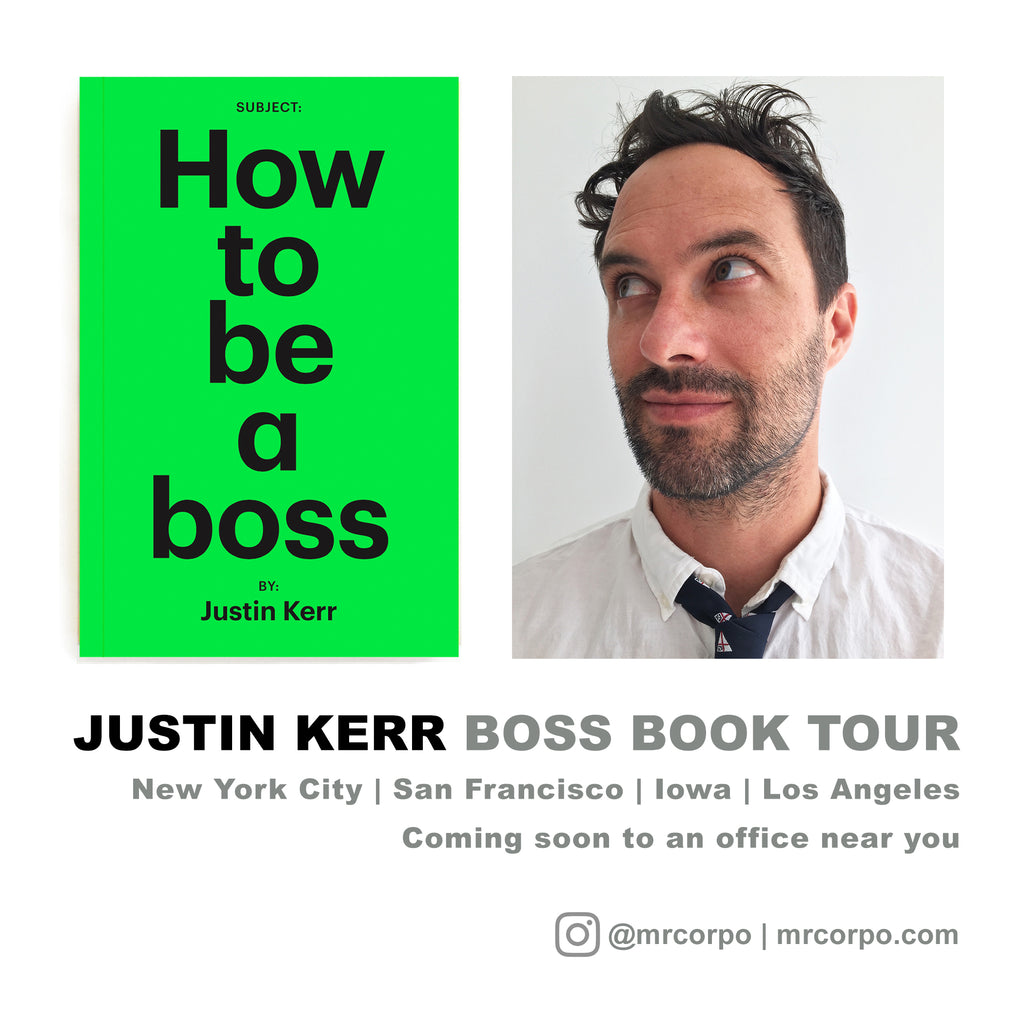 BOSS BOOK TOUR 2017!