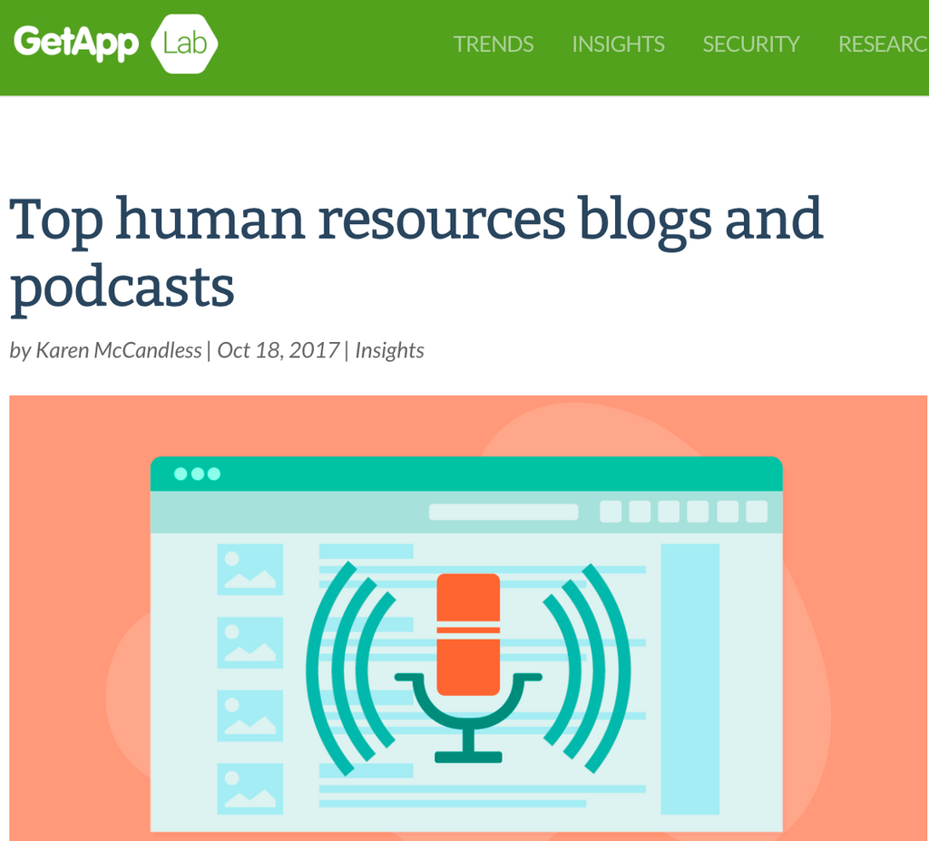 MR CORPO PODCAST featured as TOP HR PODCAST
