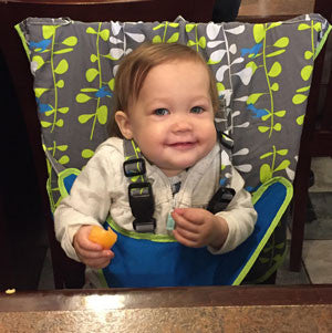 The My Little Seat Travel Highchair is a Day to Day Essential