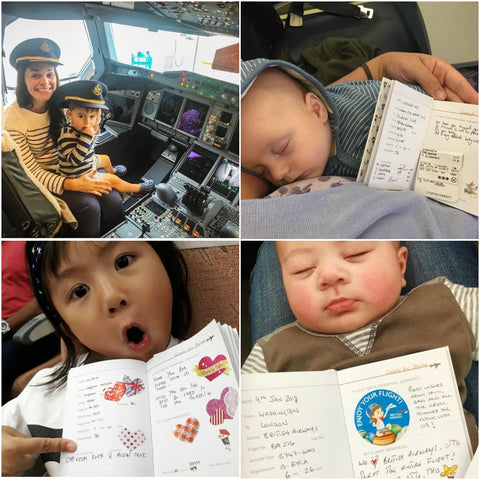 Simply for Flying Children's Flight Logbook