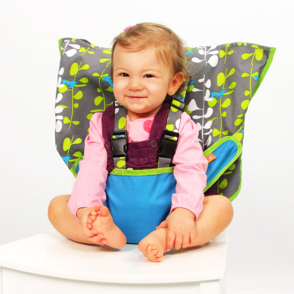 My Little Seat Travel Highchair - Blue Fish