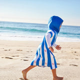 Dock & Bay Quick Dry Kids Towel Poncho - Overboard Blue