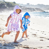 Dock & Bay Quick Dry Kids Towel Poncho - Lovely Violet