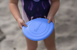 Scrunch Foldable Frisbee - Blue