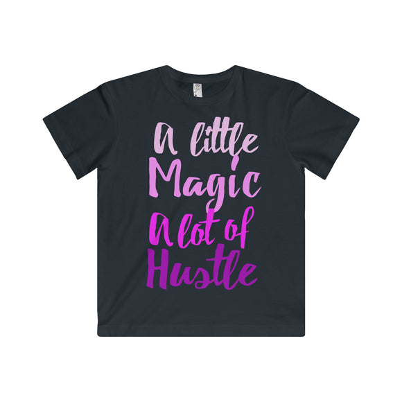 A Little Magic, A Lot of Hustle - Soft Jersey Tee - Youth