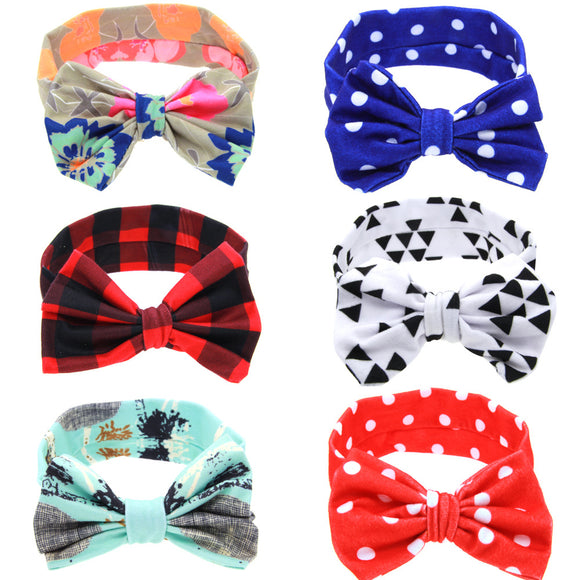 Knotted Bow Headband - 9 Adorable Prints