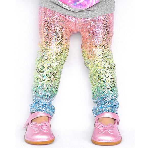 Unicorn Sparkle Leggings for Girls - 2T-6Y
