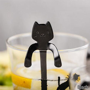 Happy Cat Stir Spoon