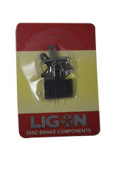 Disc Brake Pad Ligon Black
