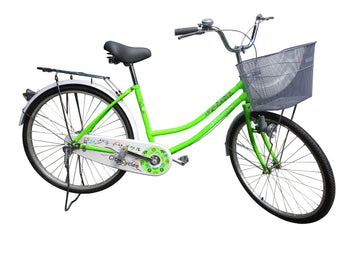 LADY BIKE JASMINE #26 W/ CARRIER AND BASKET