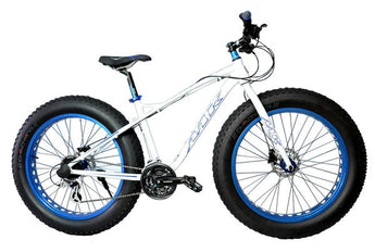 Fat Bike Colussos III 26' White