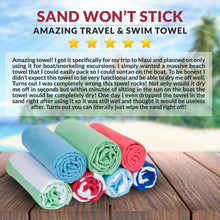 Microfiber Beach Towel - Mega - Mint