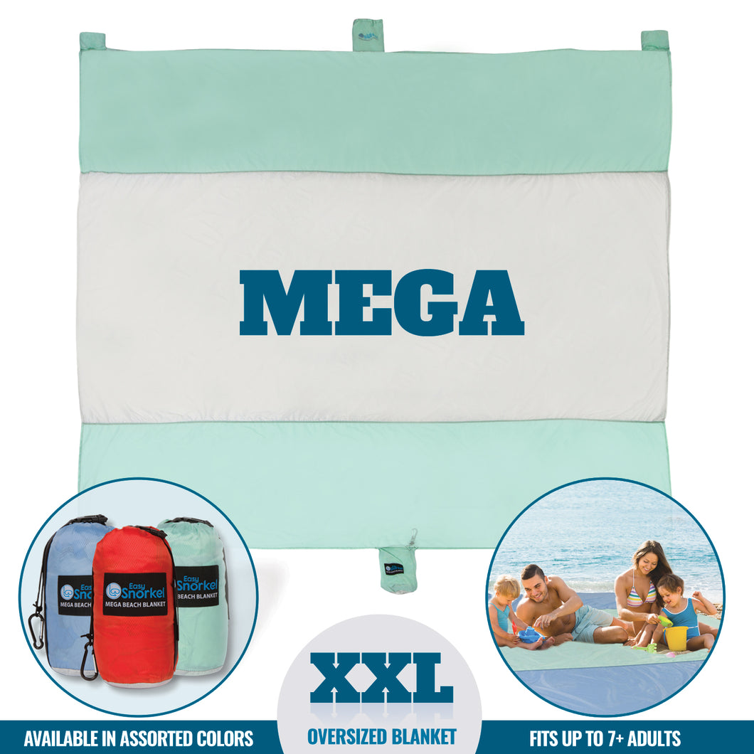 Mega Beach Blanket - Mint