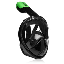 Original Full Face Snorkeling Mask Black