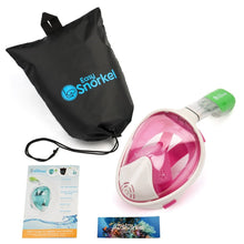 Original Full Face Snorkeling Mask Pink