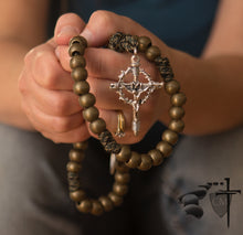 Paracord Rosaries March for Life Paracord Rosary, Our Father who art in heaven