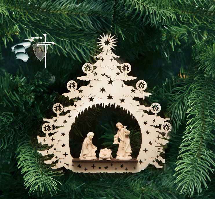 Holy Family Nativity Ornament