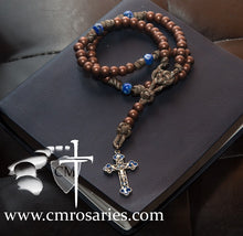 men's paracord rosary women's paracord rosary pray to the creator of heaven and earth