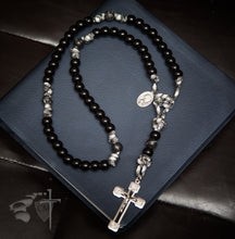 Paracord Rosary Via Crucis crucifix, the way of the cross, He ascended into heaven