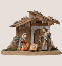 Holy Family Carved Nativity