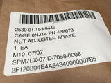 NUT ADJUSTER BRAKE SHOE 468673 CUCV