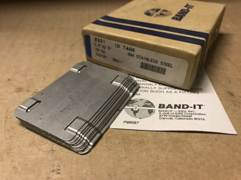 ID Tags Band-It x321