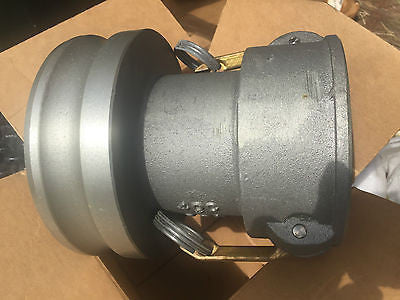 "Quick Disconnect Reducer 4"" x 6""  40CX60A Cam Locking"