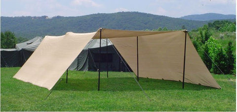US Military Solar Shade System Type II