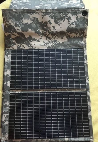 Us Military Foldable Solar Power Film Solar Charger Panel