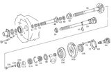 Gear Shaft A 406 260 63 20 Unimog 406 FLU419