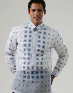 Custom Tailor Barong 100172 Blue