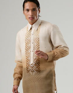 Custom Tailor Barong 100175 Brown