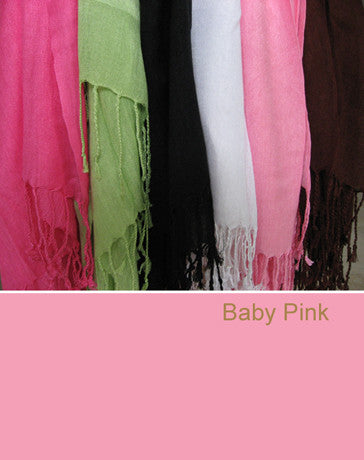 100334 Baby Pink Scarf