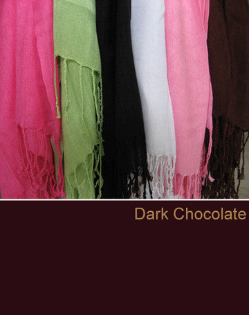 100338 Dark Chocolate Scarf