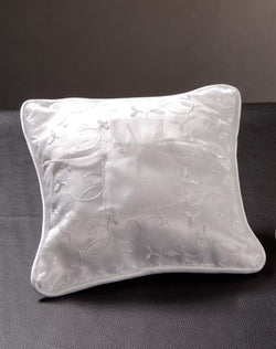 100390 White Wedding Coins Pillow