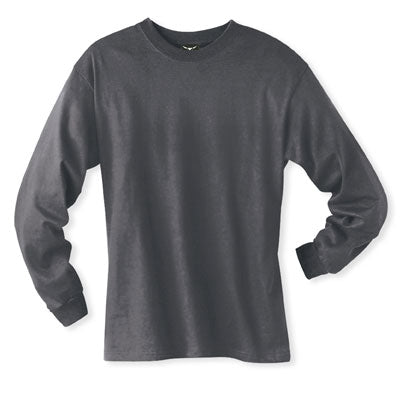 Men's Long sleeve undershirt Dark Heather Cotton 100537 Dark Heather