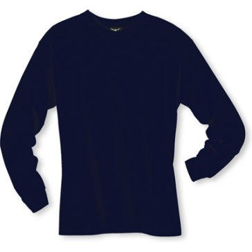 Men's Long sleeve undershirt Navy Blue Cotton 100538 Navy Blue