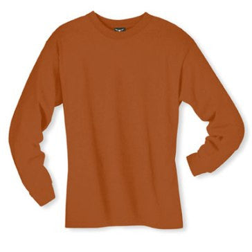 Men's Long sleeve undershirt Texas Orange Cotton 100543 Texas Orange