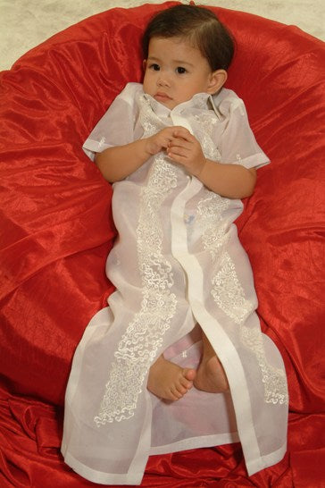 Boys' Barong-gown 100570 Cream Made-To-Order