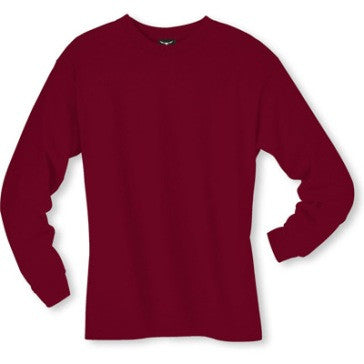Men's Long sleeve undershirt Cardinal Cotton 100572 Cardinal