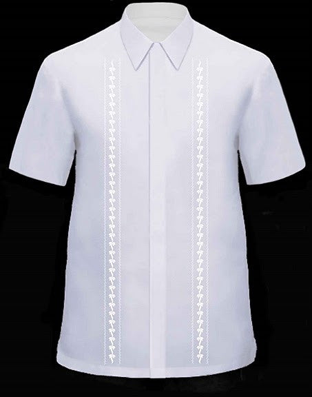Men's Barong White Viscose 100760 White