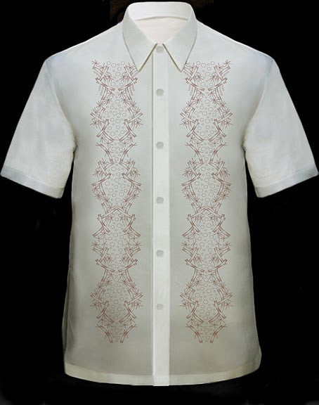 Men's Barong Cream  100770 Cream