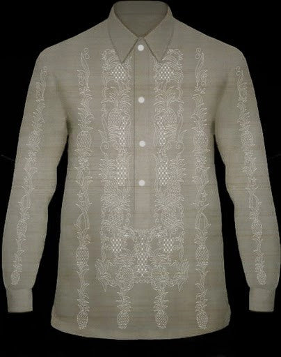 Men's Barong Pina-look Jusi fabric 100822 PinaLook